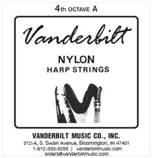 Vanderbilt Nylon, 4th Octave A