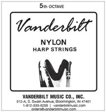 Vanderbilt Nylon, 5th Octave Set (E-A)