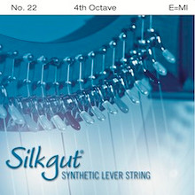 Silkgut Synthetic Lever String, 4th Octave E
