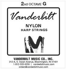 Vanderbilt Nylon, 2nd Octave G