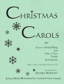 Burton, Daniel: Christmas Carols for Lever or Pedal Harp and One or Two Treble Instruments