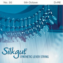 Silkgut Synthetic Lever String, 5th Octave D