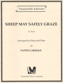 Bach/Carman: Sheep May Safely Graze (harp & flute)