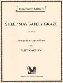 Bach/Carman: Sheep May Safely Graze (harp & flute)