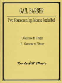Pachelbel/Barber, Two Chaconnes