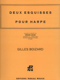 Deux Esquisses pour Harpe, Gilles Boizard
