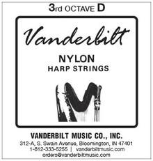 Vanderbilt Nylon, 3rd Octave D