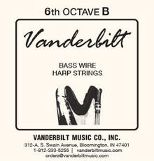 Vanderbilt Standard Bass Wire 6th octave B