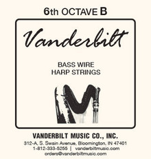 Vanderbilt Standard Bass Wire 6th octave B