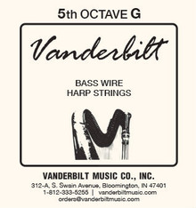 Vanderbilt Standard Bass Wire 5th octave G