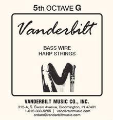 Vanderbilt Standard Bass Wire 5th octave G
