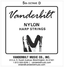 Vanderbilt Nylon, 5th Octave D