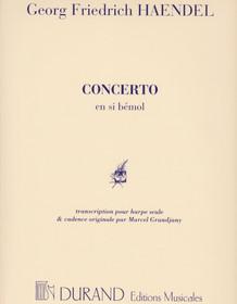 Handel/Grandjany: Concerto in B-flat (Harp Part)