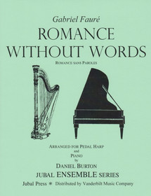Faure/Burton: Romance Without Words (harp/piano)