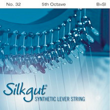 Silkgut Synthetic Lever String, 5th Octave B