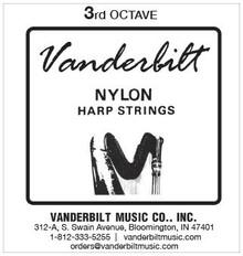 Vanderbilt Nylon, 3rd Octave Complete