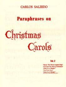 Salzedo, Paraphrases on Christmas Carols Vol. 2
