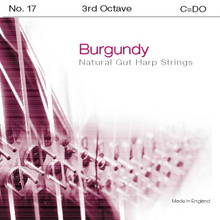 Burgundy 3rd Octave C (Red)