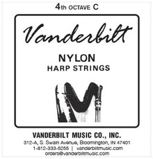 Vanderbilt Nylon, 4th Octave C (Red)