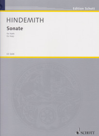 Hindemith, Paul: Sonate (for Harp)