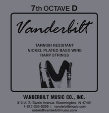 Vanderbilt Tarnish-Resistant 7th octave D