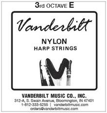 Vanderbilt Nylon, 3rd Octave E