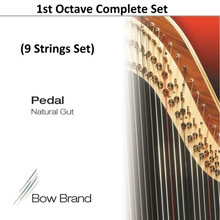 Bow Brand Gut, 1st Octave Complete (9 strings)
