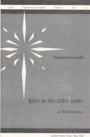 Here is the little door, Herbert Howells