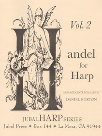 Handel/Burton, Handel for Harp Vol.2