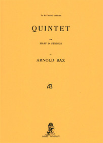Bax: Quintet for Harp & Strings