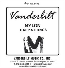 Vanderbilt Nylon, 4th Octave Complete