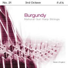 Burgundy 3rd Octave F (Black)