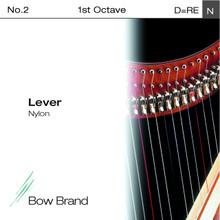 Lever Nylon String, 1st Octave D