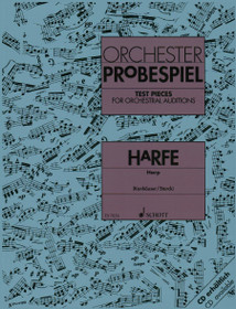 Konhauser/Storck, Test Pieces for Orchestral Auditions