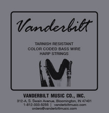 Vanderbilt Tarnish Resistant 5 Wire Set (5th Octave G through 6th Octave C)