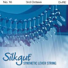Silkgut Synthetic Lever String, 3rd Octave D