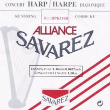 Savarez Alliance KF Composite String - HPK116 Red