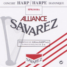 Savarez Alliance KF Composite String - HPK101RA Red (2 meter)