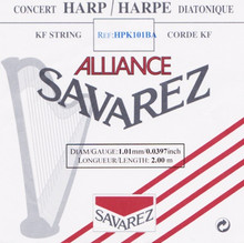Savarez Alliance KF Composite String - HPK101BA Black (2 meter)