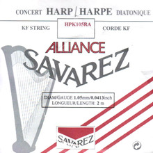 Savarez Alliance KF Composite String - HPK105RA Red (2 meter)