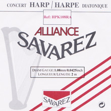Savarez Alliance KF Composite String - HPK108RA Red (2 meter)