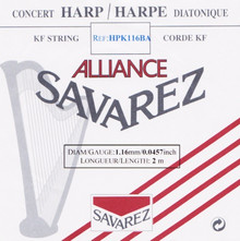 Savarez Alliance KF Composite String - HPK116BA Black (2 meter)
