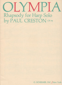 Creston: Olympia, Op. 94, Rhapsody for Harp Solo