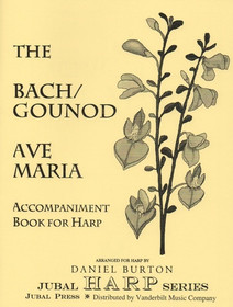 Bach JS/Gounod/Burton: Ave Maria Accompaniment Book (Downloadable)
