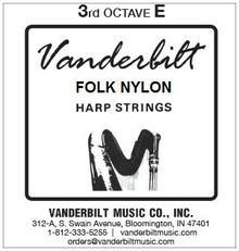 Vanderbilt Folk Nylon, 3rd Octave E
