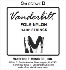 Vanderbilt Folk Nylon, 3rd Octave D