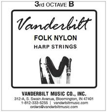Vanderbilt Folk Nylon, 3rd Octave B