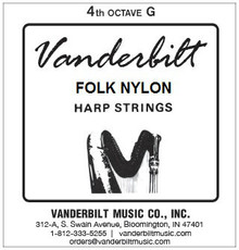 Vanderbilt Folk Nylon, 4th Octave G