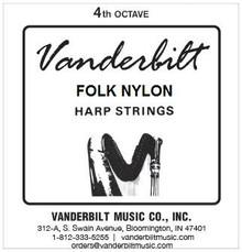 Vanderbilt Folk Nylon, 4th Octave Complete