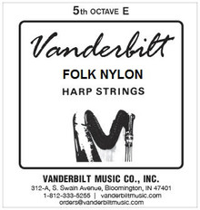 Vanderbilt Folk Nylon, 5th Octave E
